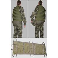 Носилки портативные с пятиточечным подсумком НБ-2, фото 1
