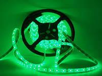 Светодиодная лента Lemanso  силик. 3528 LM 366 зелёная