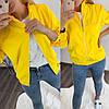 Стильна жіноча модна демісезонна куртка-бомбер з плащової тканини (р. 42-52). Арт-1606/47