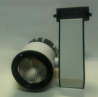 Светодиодный трековый светильник SL 30TRL/W4 30W 4200К белый Код.58549