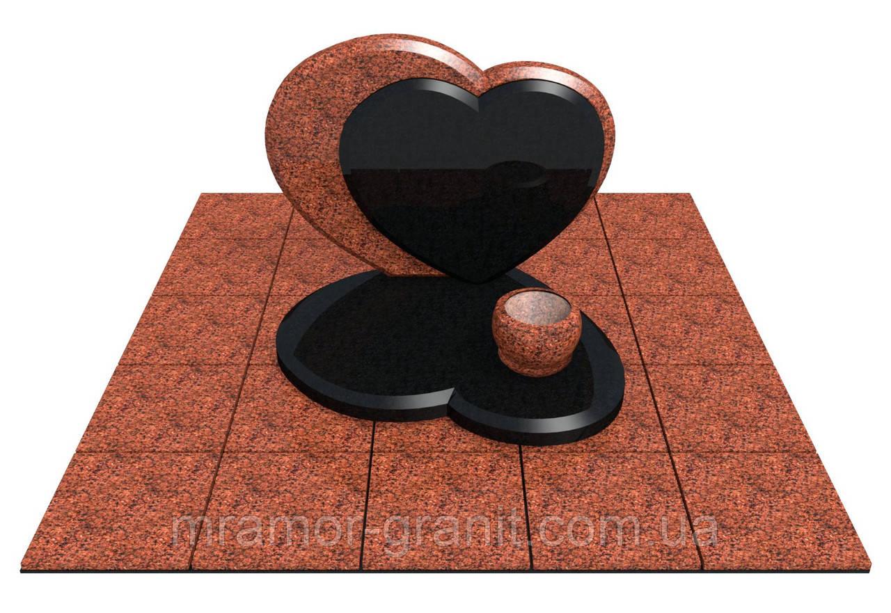 Памятник сердце ПГ - 046