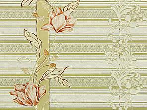 Обои на стену, цветы, светлые, акриловые, B76,4 Марго 7019-05, 0,53*10м, фото 2