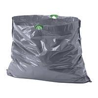 """IKEA """"ФОРСЛУТАС"""" Мешок для мусора, серый / 20 шт. 21 л."""