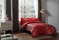 Комплект постельного белья Tac Delux FABIA красный