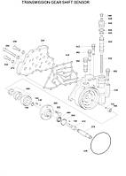 Насос масляный КПП  ZGAQ-01047 для Hyundai R140W7