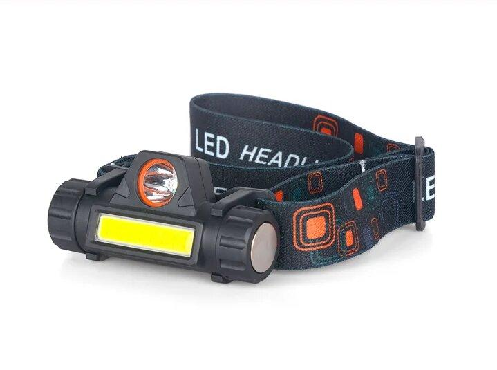 Фонарик фонарь налобный BL 8101 СОВ ХРЕ аккумуляторный фонарик