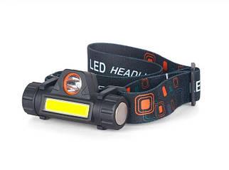 Ліхтарик ліхтар налобний BL 8101 СОВ хре акумуляторний ліхтарик