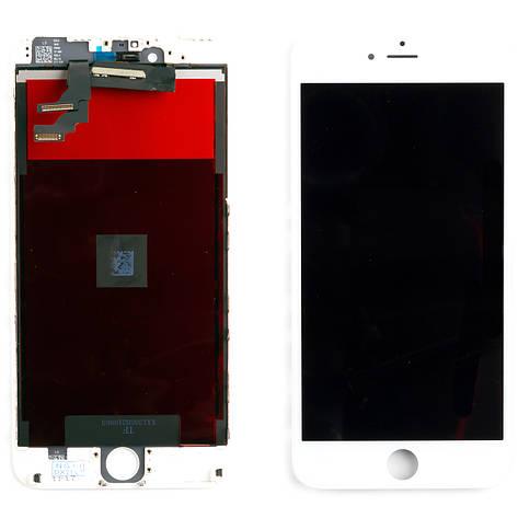 Дисплей APPLE iPhone 6 Plus з білим тачскріном, фото 2