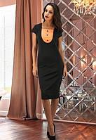 Платье черное женское,женское офисное платье
