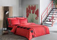 Комплект постельного белья Tac Delux Mabel красный