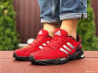 Кроссовки мужские в стиле Adidas Marathon, красные, фото 1