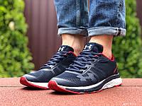Кросівки чоловічі Under Armour, темно сині з білим \ червоні, демісезонні, фото 1
