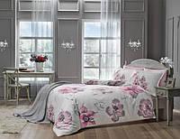 Комплект постельного белья Tac Delux Peony розовый