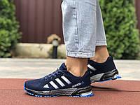 Кроссовки женские летние в стиле Adidas Marathon TR 26, темно синие, фото 1