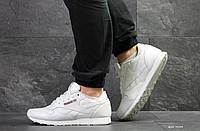 Мужские демисезонные кроссовки в стиле Reebok Classic, белые, фото 1
