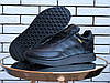 Кроссовки зимние мужские на меху в стиле Adidas Iniki, черные
