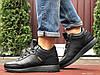 Кросівки зимові чоловічі на хутрі в стилі Adidas Iniki, чорні
