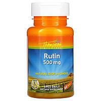 Рутин, Thompson, 500 мг, 60 таблеток, фото 1