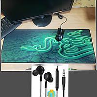 Ігровий килимок для миші Razer (ігрова поверхня), Геймерський килимок 80*30 см