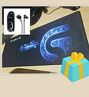 Ігровий килимок для миші 80*30 (ігрова поверхня), Геймерський килимок 80*30 см килимок під клавіатуру
