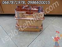 Теплообменник колонки Нева Люкс 6014, 6015 производительностью 14л/мин, запчасти водонагревателя NEVA LUX
