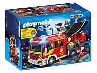 Конструктор Playmobil Пожарная машина со светом и звуком 5363