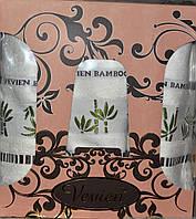 Бамбуковый набор полотенец 3-ка