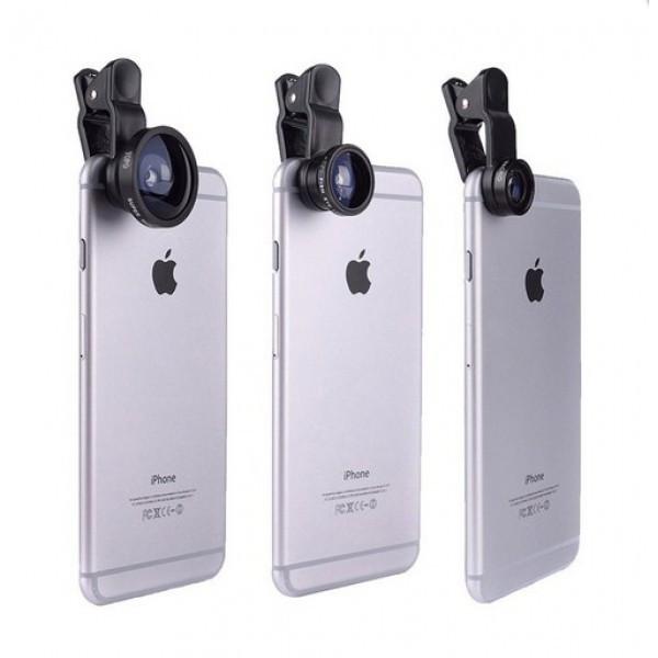 Линзы для макросъёмки (Набор объективов)на телефон Leiqi LQ-003