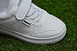 Стильні дитячі білі кросівки кеди р31-35, фото 5