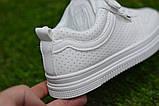 Стильні дитячі білі кросівки кеди р31-35, фото 7