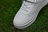 Стильні дитячі білі кросівки кеди р31-35, фото 6