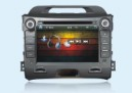Монитор TV DVD Kia Sportage 2010-