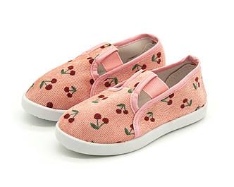 Мокасины, тапки для девочек Розовый Размер: 19-35
