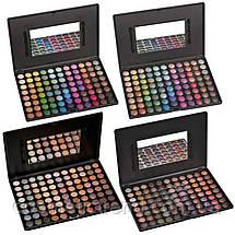 Палитра теней для макияжа глаз профессиональная 88Р01 (88 цветов), фото 2
