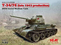 Т-34\76   1\35  ICM