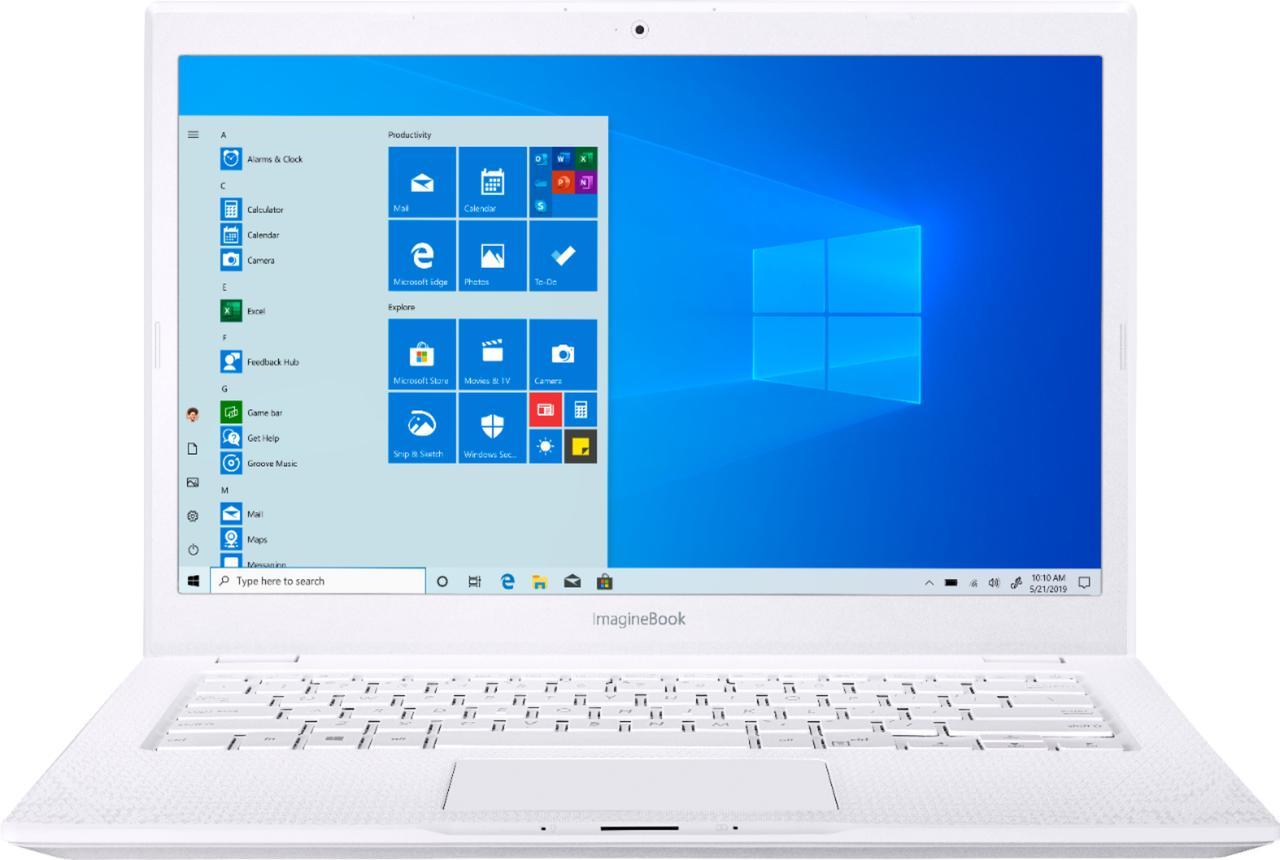 "ASUS - Geek Squad Certified ImagineBook 14"" Laptop - Intel Core m3 - 4GB - GSRF MJ401TA-BM3N5"