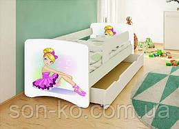 Кровать детская Балерина без шухляды. Бесплатная доставка