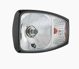 Фара головного світла Wesem RGV1.49040.01 225x150x137 права, з покажчиком повороту, без лампочок