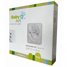 Набір для створення відбитка ручки і ніжки малюка Baby Art Діскавері Кіт