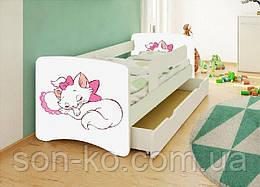 Кровать детская Кошка Мари без шухляды. Бесплатная доставка