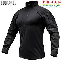 Сорочка UBACS тактична ANTITERROR II BLACK