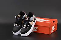 """Кросівки жіночі Nike Air Force """"Чорні"""" р. 36-40, фото 1"""