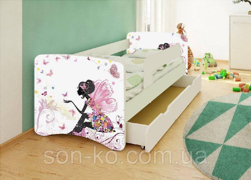 Ліжко дитяче Фея без ящика. Безкоштовна доставка