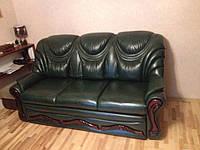 Перетяжка мебели в кожу