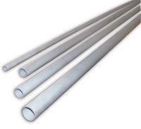 Труба дренажная ПВХ жесткая 16 мм (2м)