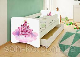 Кровать детская Замок без шухляды. Бесплатная доставка