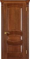 Двері Термінус №50 дуб браун (вітраж і глуха)