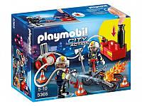 Конструктор Playmobil Пожарники с водяным насосом 5365