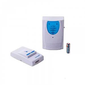 Звонок дверной на батарейках Luckarm 8203 Синий