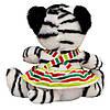 М'яка іграшка - тигреня у спідничці, 21 см, коричневий, плюш (395735), фото 2